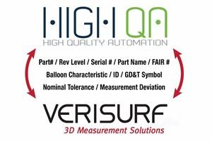 High QA, Verisurf Partner to Streamline Quality Inspection Workflows
