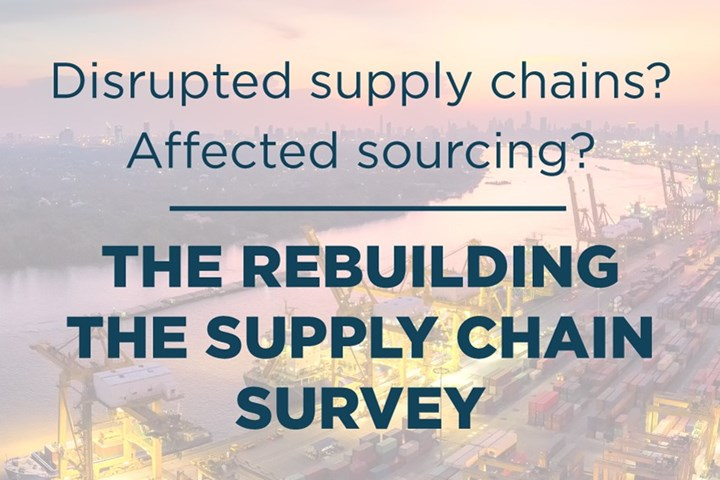 Supply Chain Survey sign