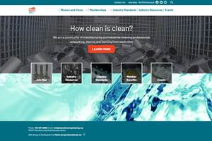 New Website is Resource for Industrial Cleaning Industry