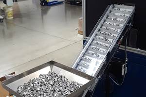 Small Conveyors for a Machine Shop's 24/7 Needs