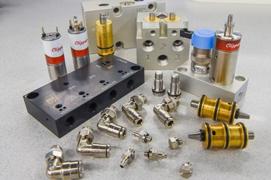 pneumatic parts from Clippard