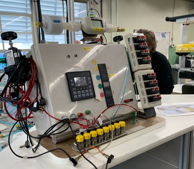 tester with PLC