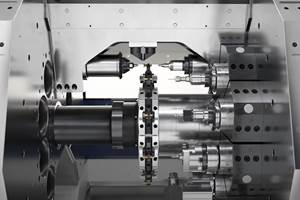 Transfer Machine Features Independent Turning Cell