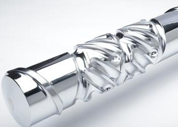 Tornillo Xaloy, diseñado por Nordson Corporation.