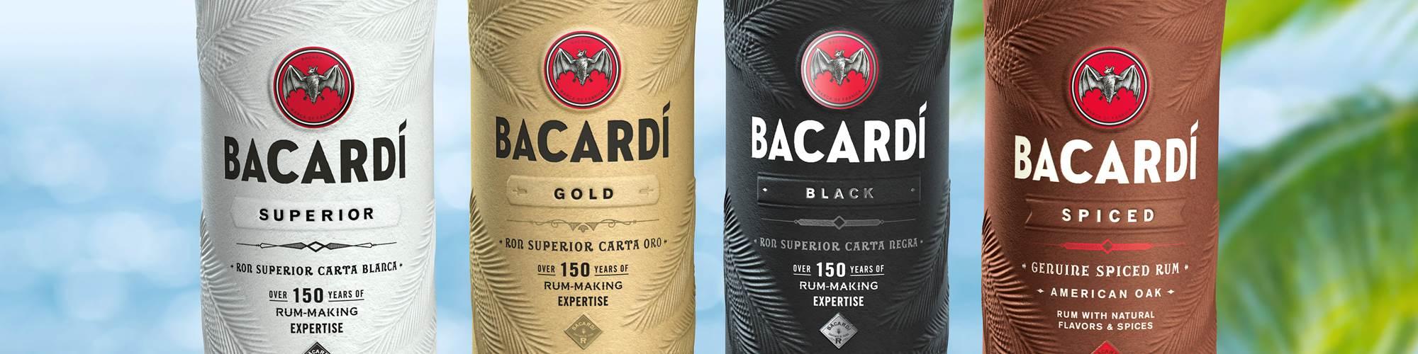 El ron Bacardí será el primer licor que aparecerácon la nueva botella, antes de que se lance el material vegetal para reemplazar el plástico de un solo uso en toda la cadena de suministro de Bacardí.