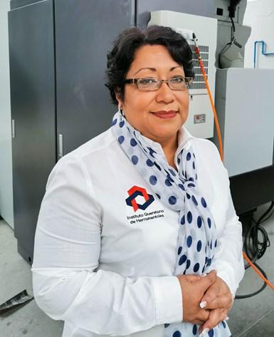 Carolina Sedano,gerente de proyectos empresariales en el Instituto Queretano de Herramentales.