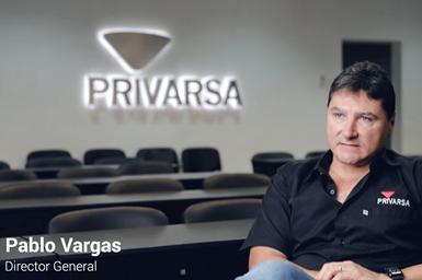 Ing. Pablo Vargas, director general de Privarsa.