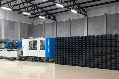 137.000 cajas por mes: Con la nueva MX 1000 la producción se incrementó en más de un 200%.