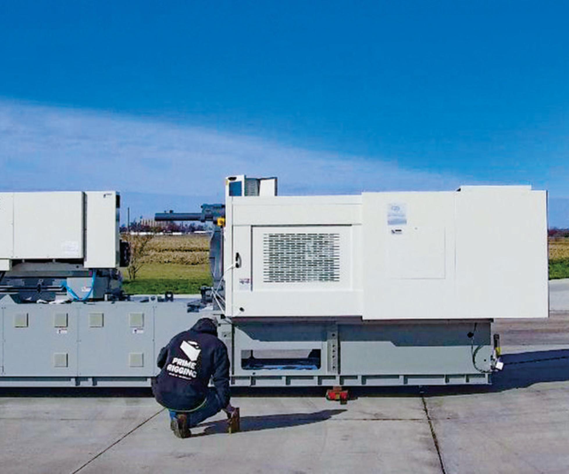 Ponga un plan de acción para asegurarse de que la instalación de su máquina sea lo más sencilla posible. Foto: Garner Industries.