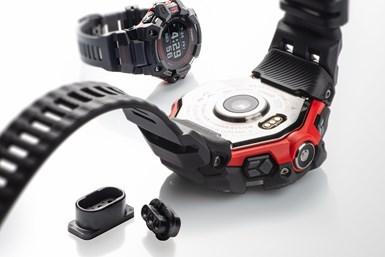 Casio utiliza el plástico de alto rendimiento UltramidAdvanced N, de BASF, en su último reloj digital de fitness G-Shock GBD-H1000.