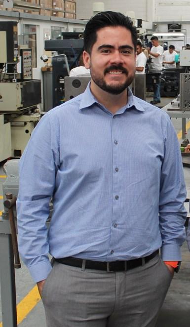 Ing. Abelardo Pérez Castillo, director de operaciones y proyectos de Grupo Perplast.