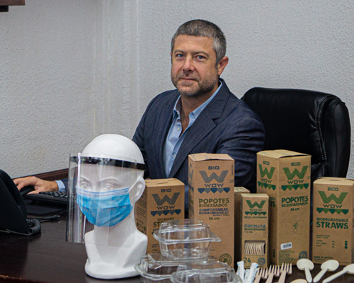 Roberto Wright, director general de Grupo Wow.