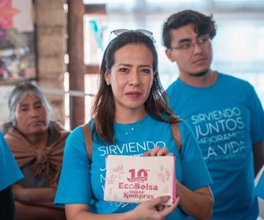 Mariana Albarrán, líder de Economía Circular y Sustentabilidad de Braskem Idesa y presidenta de la Comisión de Ecología de ANIPAC.