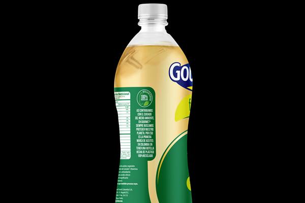 Presentan en Colombia botella para envasado de aceite elaborada con PET PCR image