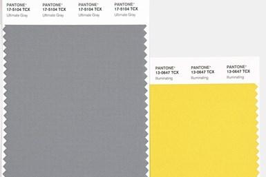 Ultimate Grey + Illuminating fueron catalogados como los colores de 2021.