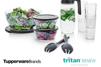 Tritan Renew, de Eastman, permitirá a Tupperware ampliar aún más ECO+ para seleccionar productos que requieran un diseño transparente, similar al vidrio.