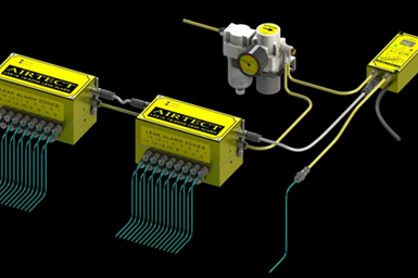 Sistema de detección de fugas de plástico, de Airtect.
