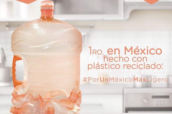 Bonafont fortalece su estrategia de reciclaje de plásticos image