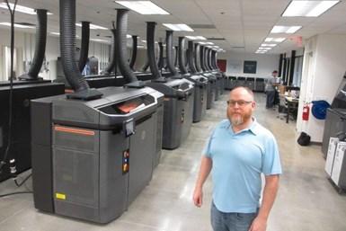 Corey Webber, cofundador de Forecast 3D.