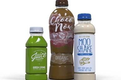 Las botellas de plástico asépticas de vida útil prolongada, de Amcor, cuentan con tecnología de barrera que protege contra la luz ultravioleta.