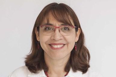 Odilia Pérez Camach, investigadora titular del Centro de Investigación en Química Aplicada (CIQA).