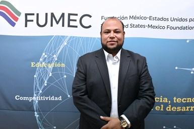 Eugenio Marín Aguilar, director ejecutivo de la Fundación México-Estados Unidos para la Ciencia (FUMEC).