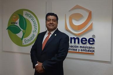 Hiram Cruz, director de la Asociación Mexicana de Envase y Embalaje (AMEE).