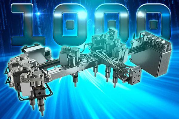 HRSflow celebra hito de ventas de mil sistemas de canal caliente con servocontrol image