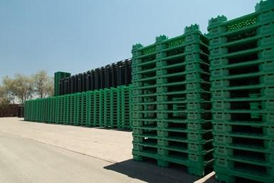 Los residuos plásticos de las industrias pesquera y piscícola se utilizan para producir, entre otras cosas, grandes volúmenes de palets y cajas.