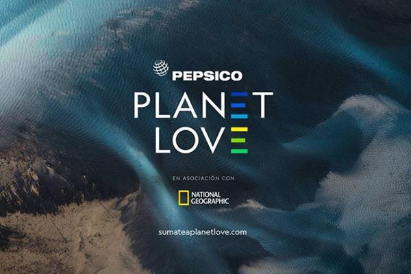 PepsiCo y National Geographic lanzan campaña de sustentabilidad Planet Love image