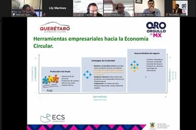 SEDESU busca fortalecer economía circular a través de clústeres en Querétaro