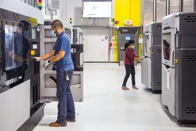 Centro de impresión 3D post covid.