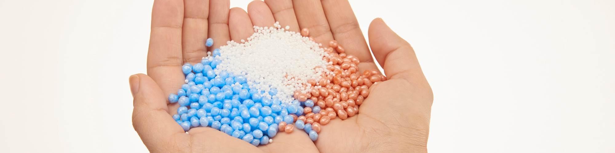 Perlas extruidas, de Sulzer Chemtech.