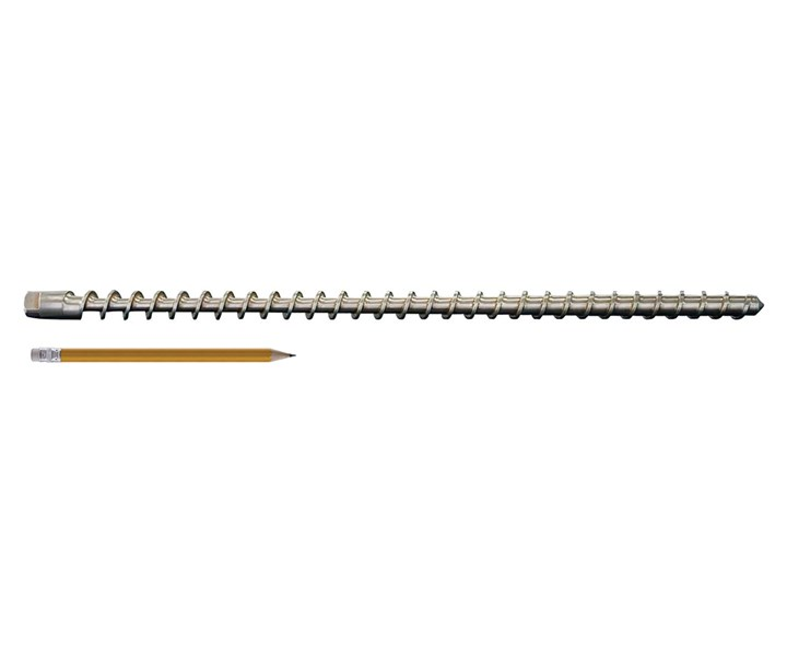 Designing tiny extrusion screws