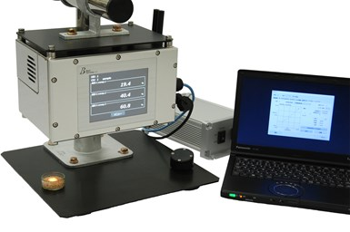 KETT BSR1700 online unit for real-time moisture analysis.