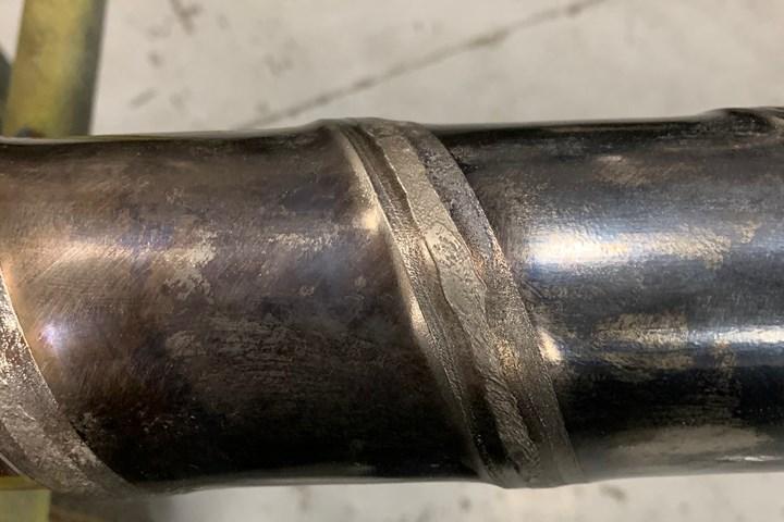 Abrasive wear in plastics processing screws