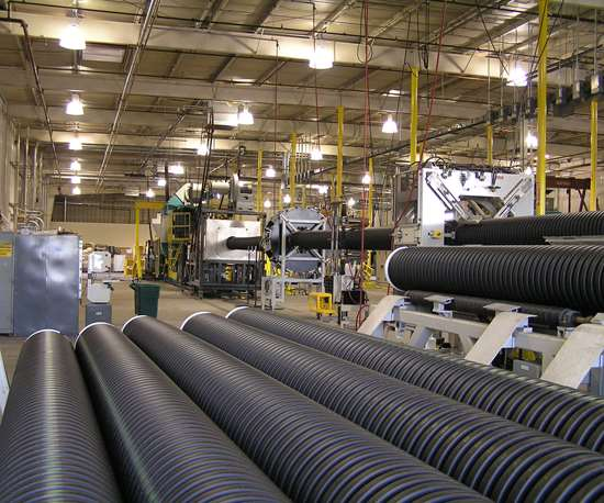 Blazing the Trail In Processing PCR for Corrugated Pipe