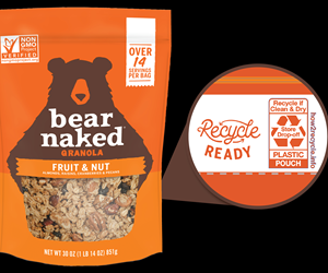 Kellogg's Bear Naked Granola Now in All-PE Pouch With Barrier
