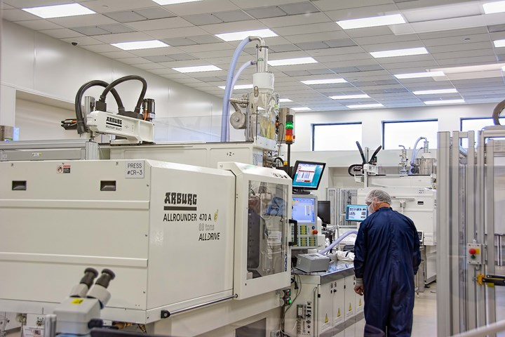 clean room injection molding