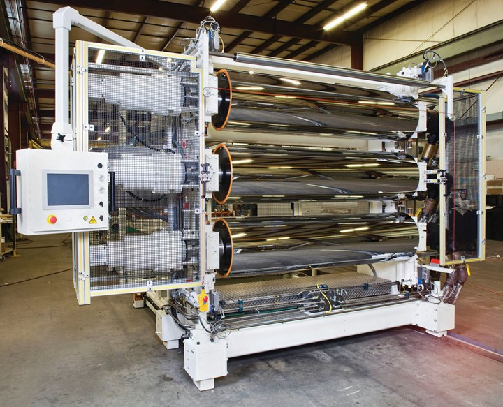 Sheet Extrusion Lines for PPE
