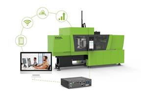 Injection Molding: Remote Optimization of Process & Machine by Application Engineer