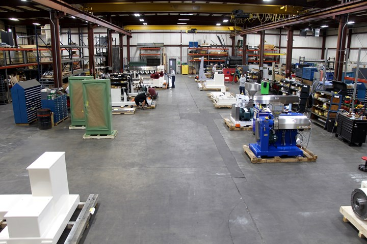 US Extruders Expands Plant