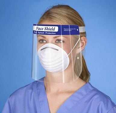 Plastic Faceshield for Cororavirus