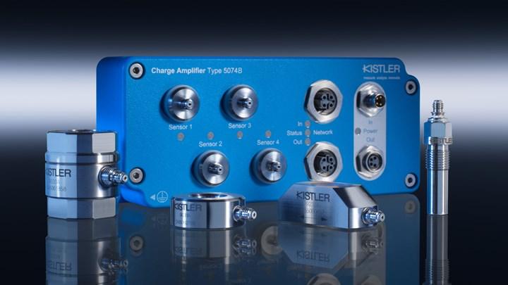Kistler 5074B digital charge amplifier