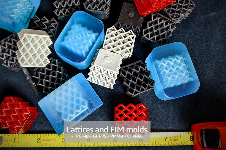 Addifab lattices and molds