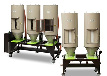Drying: Cost-Effective, Flexible Multi-Hopper System
