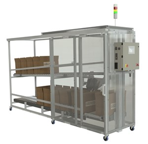Part Handling: Standard Box-Filling Conveyor Systems
