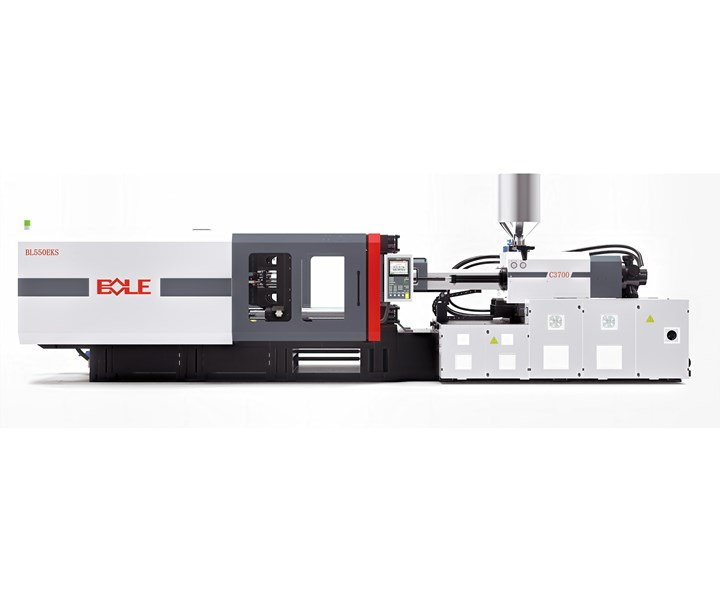 Bole's new EKS550 servohydraulic toggle press.