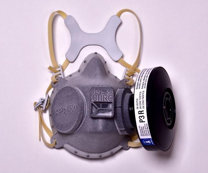 3D-printed mask