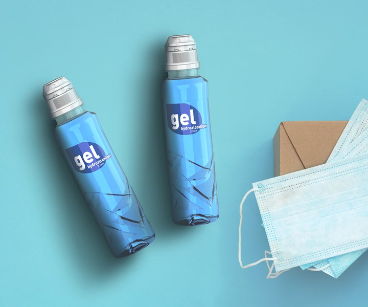 Sidel has marshalled its bottle-development machinery and existing molds, along with donated preforms and caps, to make PET hand-sanitizer bottles for French hospitals and pharmacies.